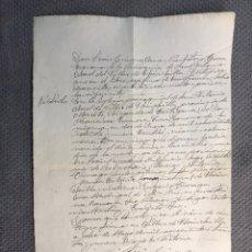 Documentos antiguos: SAN ANTONIO ABAD DEL VILLAR DE CHINCHILLA (ALBACETE) PARTIDA BAUTISMAL (A.1939). Lote 197149150