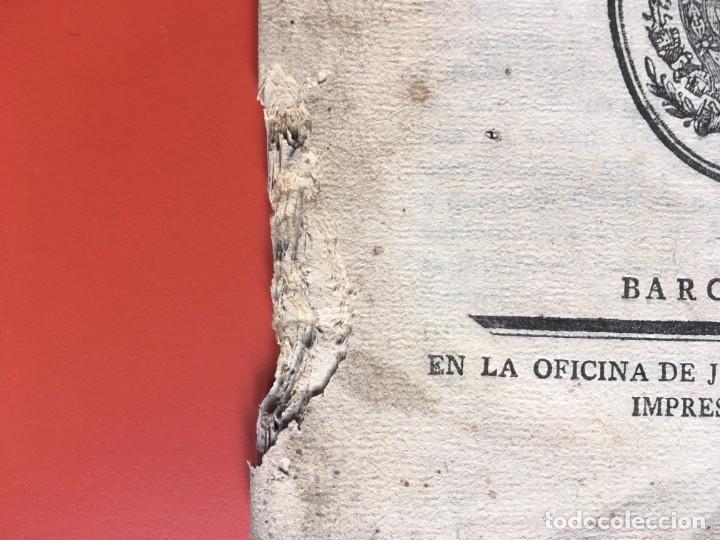 Documentos antiguos: REAL CEDULA DE S.M. ORDENANZAS FARMACIA - 1804 - - Foto 3 - 197183075