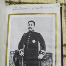 Documentos antiguos: 1912. LIBRO RECORDATORIO. TENIENTE CORONEL DON AGUSTÍN LUQUE Y MALAVER. GUERRA DE CUBA.. Lote 197258020