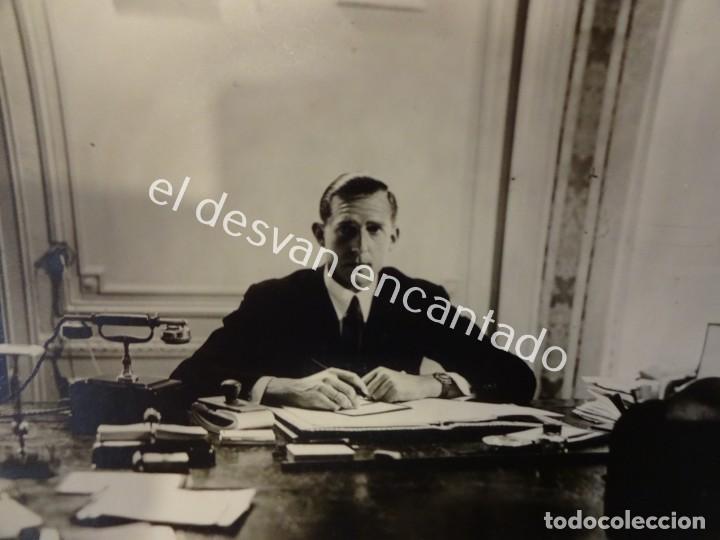 Documentos antiguos: JUAN DE BORBON. Conde de Barcelona. Estoril. Correspondencia Secretario General. Años 1950-60 - Foto 2 - 197318887