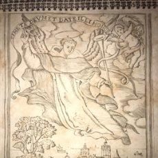 Documentos antiguos: 1743. HUESCA. CONDADO CASTELFLORITE Y BARONÍA DE ANTILLÓN. CONDE DE FUENTES, GRABADO VALENCIA. Lote 197326668