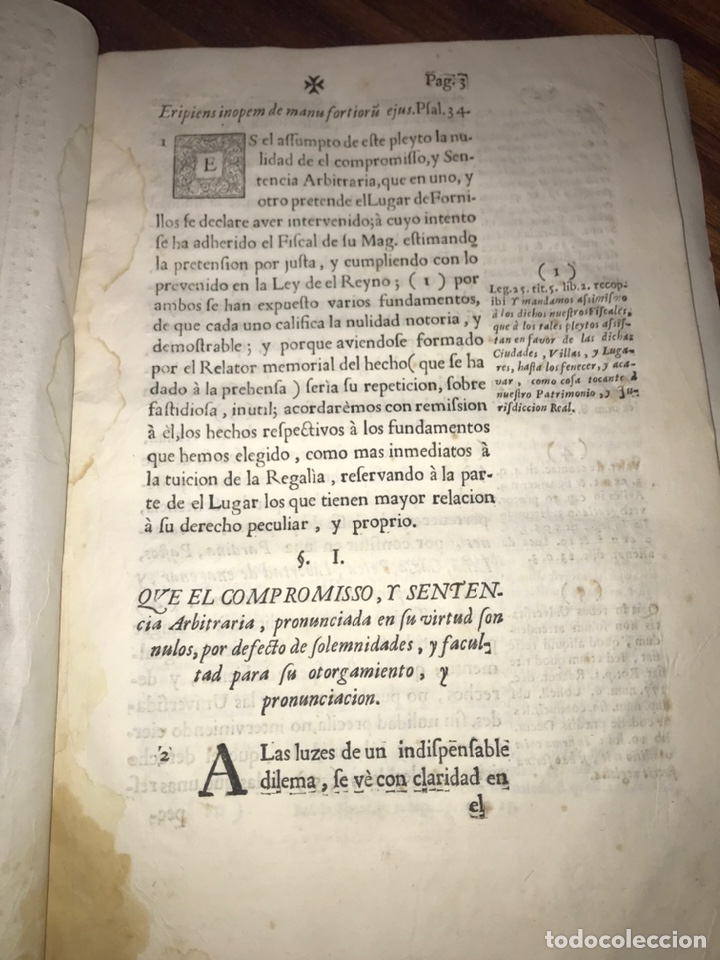 Documentos antiguos: HUESCA. FORNILLOS, ILCHE. PLEITO FORNILLOS Y VARON DE LETOSA. NULIDAD Y SENTENCIA. - Foto 3 - 197328445