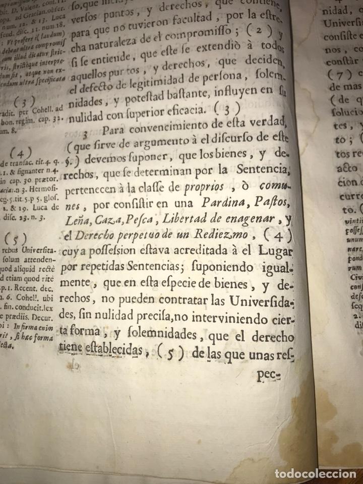 Documentos antiguos: HUESCA. FORNILLOS, ILCHE. PLEITO FORNILLOS Y VARON DE LETOSA. NULIDAD Y SENTENCIA. - Foto 4 - 197328445
