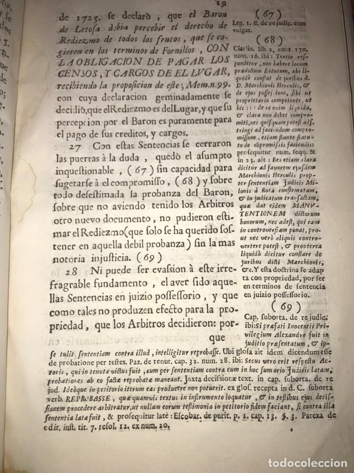 Documentos antiguos: HUESCA. FORNILLOS, ILCHE. PLEITO FORNILLOS Y VARON DE LETOSA. NULIDAD Y SENTENCIA. - Foto 7 - 197328445