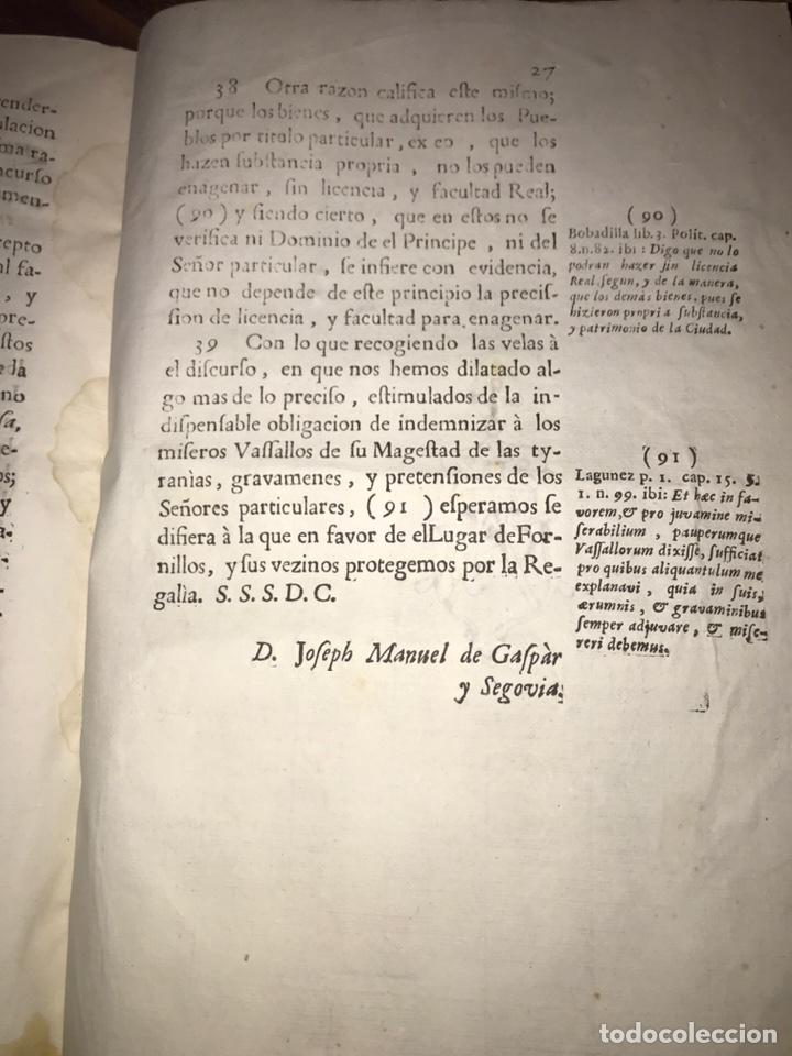 Documentos antiguos: HUESCA. FORNILLOS, ILCHE. PLEITO FORNILLOS Y VARON DE LETOSA. NULIDAD Y SENTENCIA. - Foto 10 - 197328445