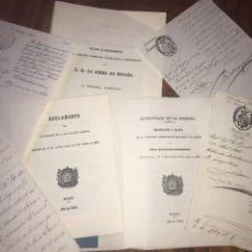 Documentos antiguos: AMÉRICA. CONJUNTO DOCUMENTAL CONCERNIENTE A LA ISLA DE SANTO DOMINGO (IMPRESOS Y MANUSCRITOS). XIX. Lote 197391243