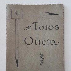 Documentos antiguos: PORTAFOTOS CARTULINA FOTOS OTTEIN MADRID AÑOS 40. Lote 197438217