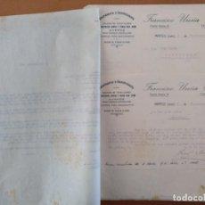 Documents Anciens: DOCUMENTACION ALBARDONERIA Y GUARNICIONERIA FRANCISCO UREÑA TORRES MARTOS (JAEN) 1926. Lote 198094666