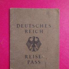 Documentos antiguos: PASAPORTE DE ALEMANIA 1929, PASSPORT, PASSEPORT,REISEPASS. Lote 198585388