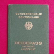 Documentos antiguos: PASAPORTE DE ALEMANIA 1983, PASSPORT, PASSEPORT,REISEPASS. Lote 198643183