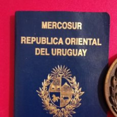 Documentos antiguos: PASAPORTE DE URUGUAY 2005, PASSPORT, PASSEPORT,REISEPASS. Lote 198668291