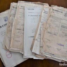 Documentos antiguos: LOTE MULTITUD DOCUMENTOS AYUNTAMIENTO DE ALCOY AÑOS 40-50: CERTIFICADOS, ACTAS LIBRAMIENTOS, ESCRITO. Lote 199895985