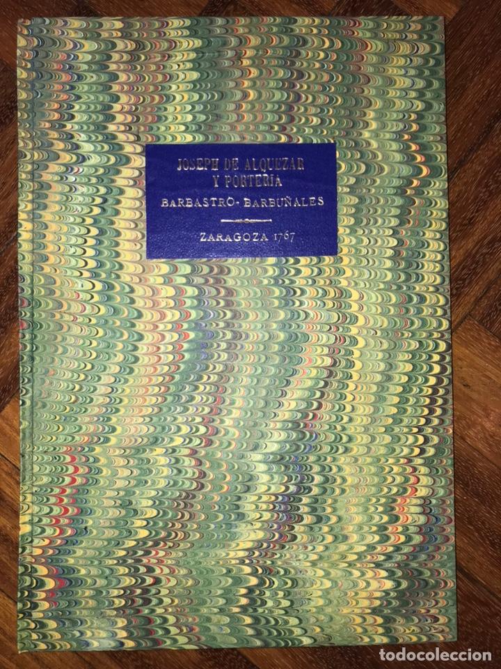 Documentos antiguos: HUESCA. PROVISIÓN EJECUTORIA DE INFANZONÍA JOSEPH DE ALQUEZAR Y PORTERIA. BARBASTRO, BARBUÑALES.1767 - Foto 8 - 200608598