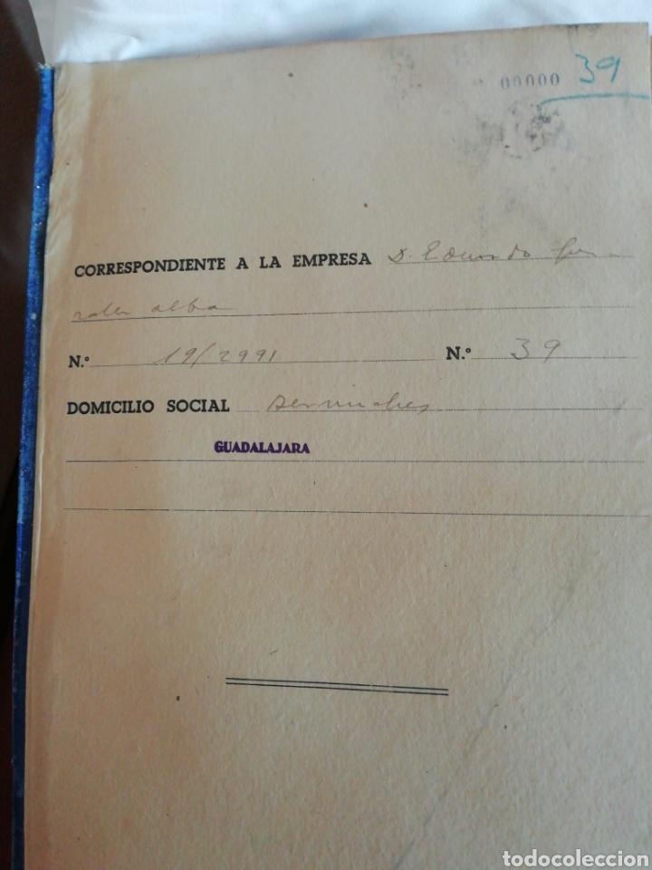 Documentos antiguos: Libro oficial pago de haberes 1946 - Foto 2 - 200647061