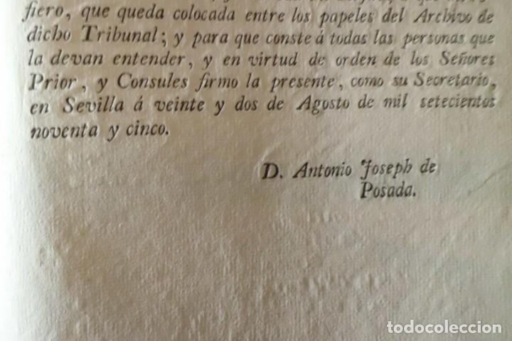 Documentos antiguos: REAL RESOLUCION SOBRE EXENCIONES FABRICA DE CERVEZA, SANTANDER Y TODAS LAS DEMAS FABRICAS CERVEZA - Foto 5 - 202372107