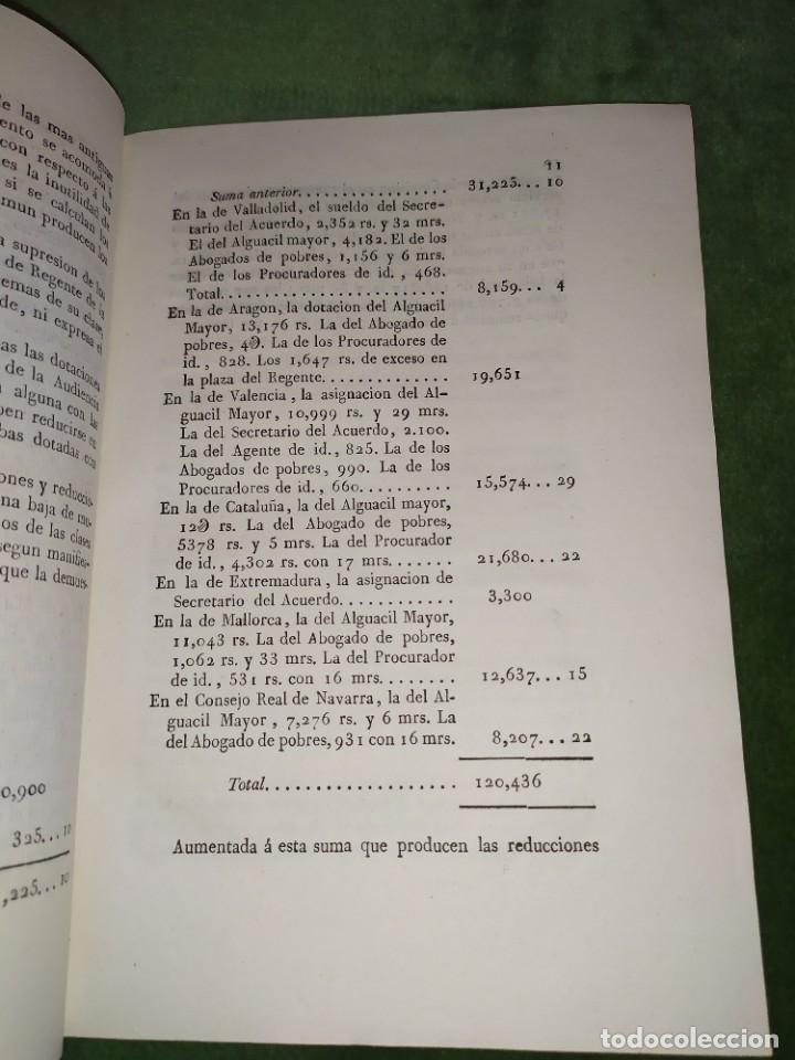 Documentos antiguos: 1834. Presupuesto de gastos clases de activos Ministerio de Gracia y Justicia de España. - Foto 2 - 203052475