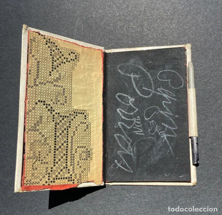 Documentos antiguos: CARNET DE BAILE. PUBLICIDAD EMILIO REQUEJO. C/ FUENCARRAL. MADRID.ARTÍCULOS DE SOMBREROS. - Foto 2 - 205383656