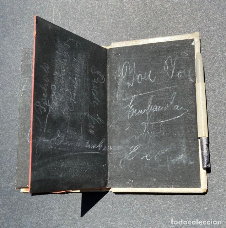 Documentos antiguos: CARNET DE BAILE. PUBLICIDAD EMILIO REQUEJO. C/ FUENCARRAL. MADRID.ARTÍCULOS DE SOMBREROS. - Foto 4 - 205383656
