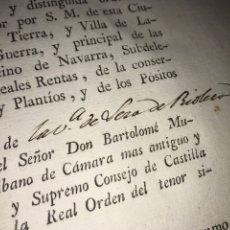 Documentos antiguos: LEZA DE RÍO LEZA. LA RIOJA. LUTO POR LA MUERTE DE REINA MARIA ISABEL BRAGANZA. LOGROÑO. Lote 205659878