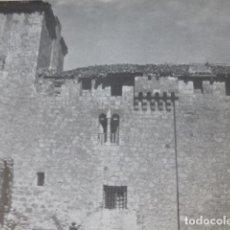 Documentos antigos: CURIEL DE AJOS VALLADOLID CASTILLO ANTIGUA LAMINA HUECOGRABADO AÑOS 40. Lote 205810816