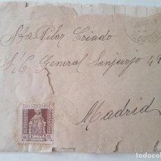 Documentos antiguos: CARTA PERSONAL PILAR CRIADO MADRID 1949. Lote 205811500