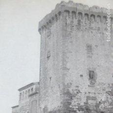 Documenti antichi: CASTELLDEFELS BARCELONA CASTILLO ANTIGUA LAMINA HUECOGRABADO AÑOS 40. Lote 205817492