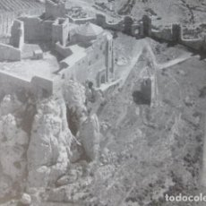 Documentos antiguos: LOARRE HUESCA CASTILLO ANTIGUA LAMINA HUECOGRABADO AÑOS 40. Lote 205824328