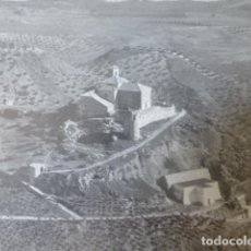 Documentos antiguos: VILCHES JAEN CASTILLO ANTIGUA LAMINA HUECOGRABADO AÑOS 40. Lote 205825173