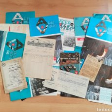 Documentos antiguos: ALTOS HORNOS DE VIZCAYA. ESPECTACULAR LOTE VARIADO DE OBJETOS.. Lote 206169560