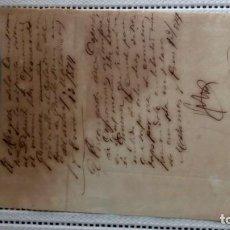 Documentos antiguos: ESCLAVOS--ORDEN DE LLEVARLO AL DEPÓSITO DE CIMARRONES. Lote 206302022