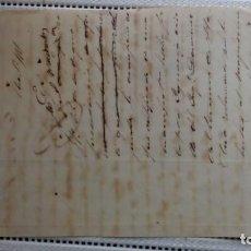 Documentos antiguos: ESCLAVOS.--1 PARDA RECLAMA SU LIBERTAD. Lote 206302803