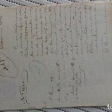 Documentos antiguos: DEFICIENCIAS EN LA CONSTRUCCIÓN DEL FERROCARRIL. Lote 206304750