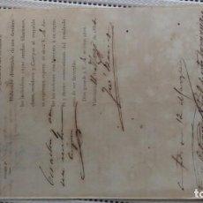 Documentos antiguos: CAPTURA POR DESERCION. Lote 206305540