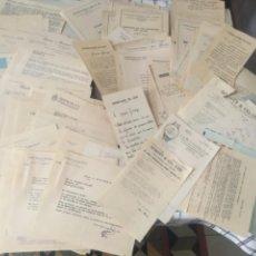 Documentos antiguos: MUSICA (M) LOTE DE 122 DOCUMENTOS CARTAS ORIGINALES DEL MÚSICO GRACIANO TARRAGÓ PONS (SALAMANCA 1892. Lote 206432177