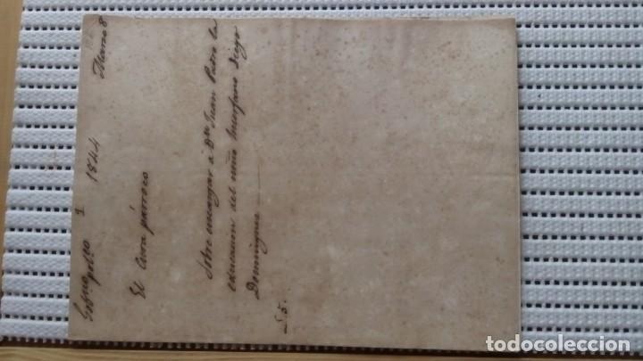 INFORMES SOBRE UNA PERSONA PARA TENER A SU ABRIGO UN NIÑO. P104 (Coleccionismo - Documentos - Otros documentos)