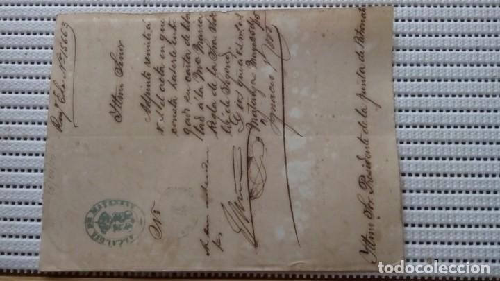 ESCLAVOS--CARTA DE LIBERTAD. P107 (Coleccionismo - Documentos - Otros documentos)