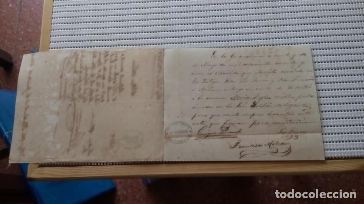 Documentos antiguos: ESCLAVOS--CARTA DE LIBERTAD. P107 - Foto 2 - 206972937