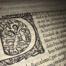 Documentos antiguos: ZARAGOZA 1674. LA CECA DE ZARAGOZA. FACULTAD DE LABRAR MONEDA EN ZARAGOZA. RARO. Lote 207155501