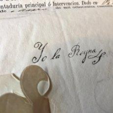 Documentos antiguos: NOMBRAMIENTO GRADO CAPITÁN INFANTERIA. REINA ISABEL II Y FRANCISCO DE PAULA. 1848. Lote 207383165