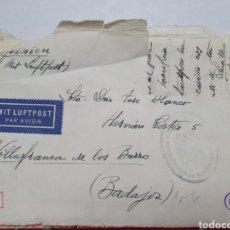 Documentos antiguos: CARTA DESDE LA ALEMANIA NAZI. BRESLAN AÑO 1941.. Lote 207851585