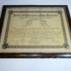 Documentos antiguos: INSTITUCIÓN UNIVERSAL DE CORTE Y CONFECCIÓN. AÑO 1942.SISTEMA MARTI.. Lote 208796608