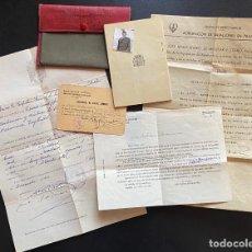 Documentos antiguos: LOTE FERROCARRILES. RARO CARNET ORGANIZACIÓN SINDICAL TRANSPORTE. RENFE.. Lote 210048528