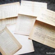 Documentos antiguos: LOTE DE DOCUMENTOS DEL AYUNTAMIENTO DE MADRID - SUSCRIPCIÓN PÚBLICA DE OBLIGACIONES. Lote 210077830
