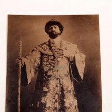 Documentos antiguos: TENOR DESCONOCIDO - FOTOGRAFÍA DEDICADA. Lote 210316971