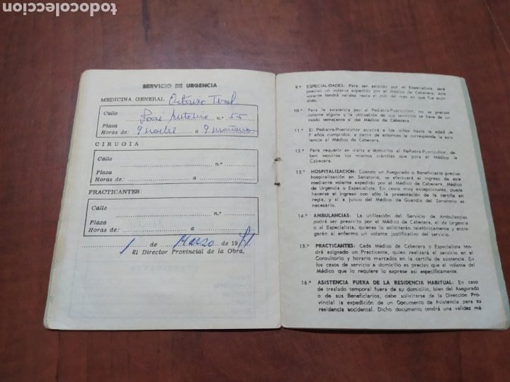 Documentos antiguos: Obra Sindical 18 de Julio.Alicante - Foto 2 - 210384837