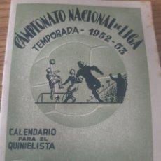 Documentos antiguos: APUESTAS DEPORTIVAS QUINIELAS. Lote 210386525