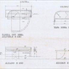 Documentos antiguos: CATALOGO DISEÑOS MOBILIARIO DOMESTICO 2- 25UNDS (75€). Lote 210616968