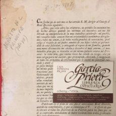 Documentos antiguos: ARRESTO DE FERNANDO VII POR SU PADRE MADRID 1807. Lote 211274040