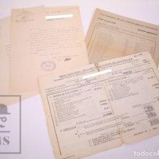 Documentos antiguos: ANTIGUOS DOCUMENTOS DE RED NACIONAL DE FERROCARRILES ESPAÑOLES / RENFE - AÑOS 40-70. Lote 211275755