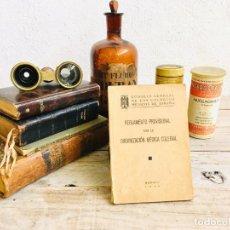 Documentos antiguos: REGLAMENTO PROVISIONAL PARA LA ORGANIZACION MEDICA COLEGIAL MADRID 1946 MINISTERIO DE LA GOVERNACION. Lote 211976390